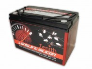 Zenith Long Life Silicon AGM Deep Cycle Accu 105Ah 27MF