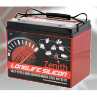 Zenith Long Life Silicon AGM Deep Cycle Accu 85Ah 24MF